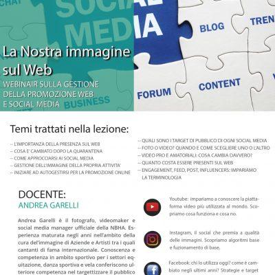 Webinair Sulla Gestione Della Promozione Web e Social Media