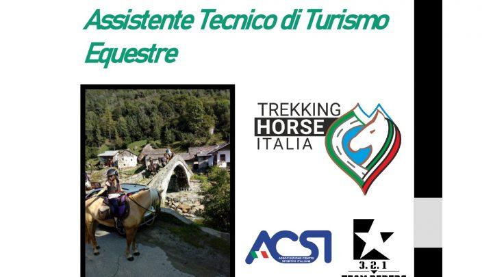 Corso Assistente Tecnico di Turismo Equestre