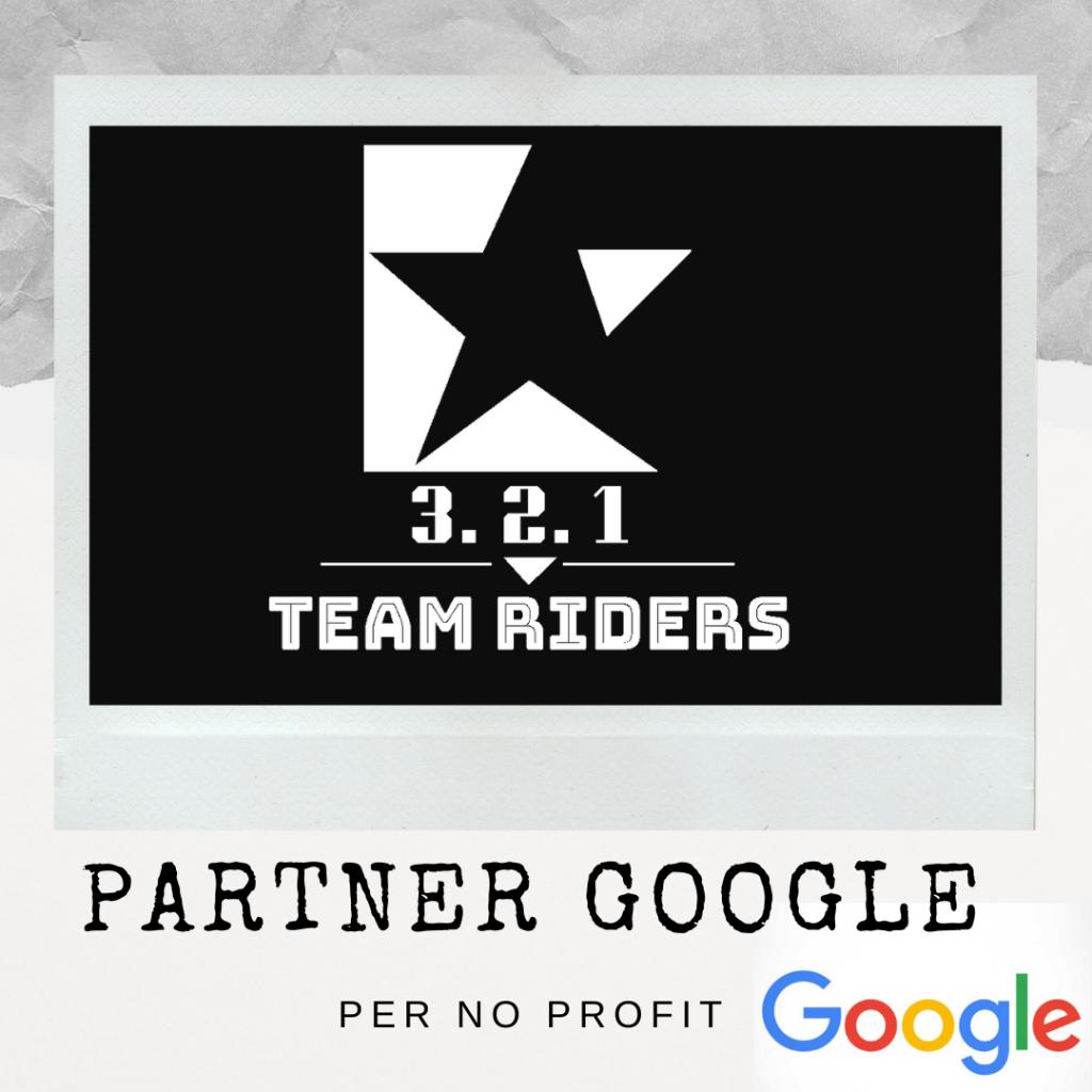 321 team riders, partner di google