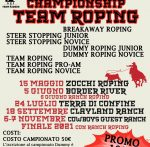 Calendario National Championship Team Roping 2021